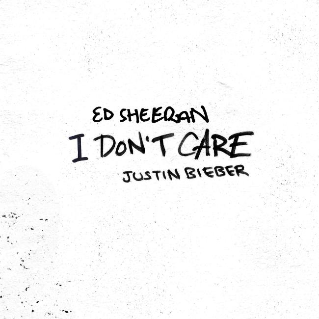 Ed Sheeran and Justin Bieber release new collaboration I Don't Care