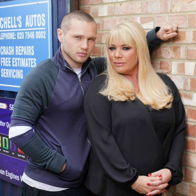 EastEnders Sharon 'to find out she's pregnant