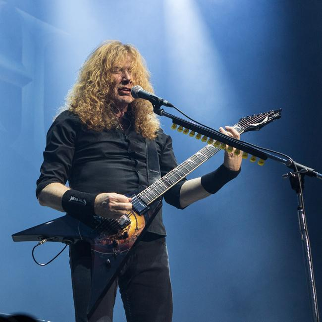 Dave Mustaine thanks fans for support after cancer diagnosis