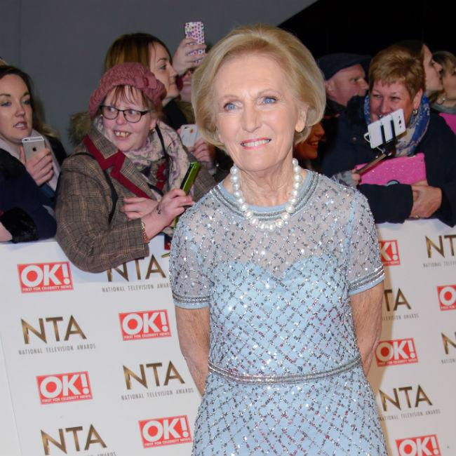 Mary Berry was 'wild'