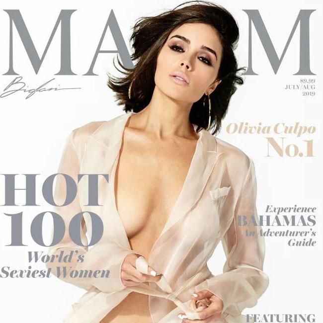 Olivia Culpo tops Maxim Top 100 list