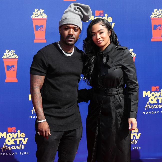 Ray J's wife flips off camera over Zachary Levi's sex tape joke