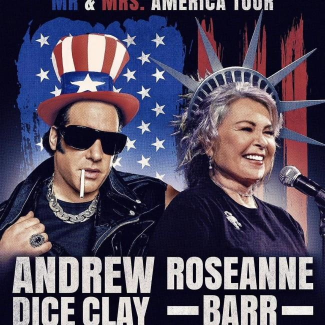 Roseanne Barr heading on tour one year after Twitter scandal
