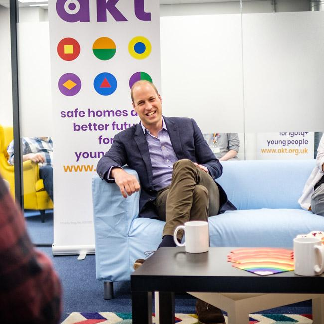 Prince William would be 'fine' with gay children