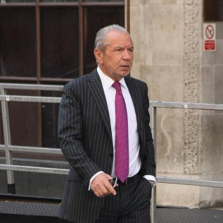 Lord Alan Sugar's wife didn't think he was ill before heart surgery
