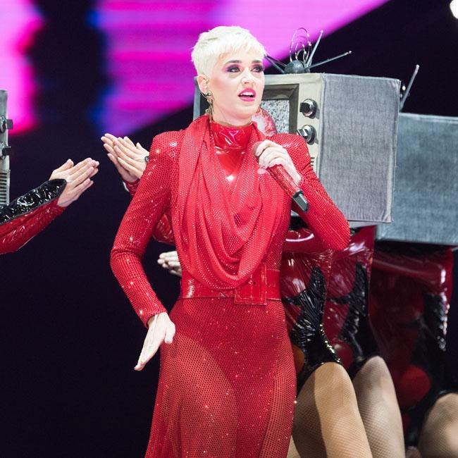 Katy Perry taking wedding planning slowly