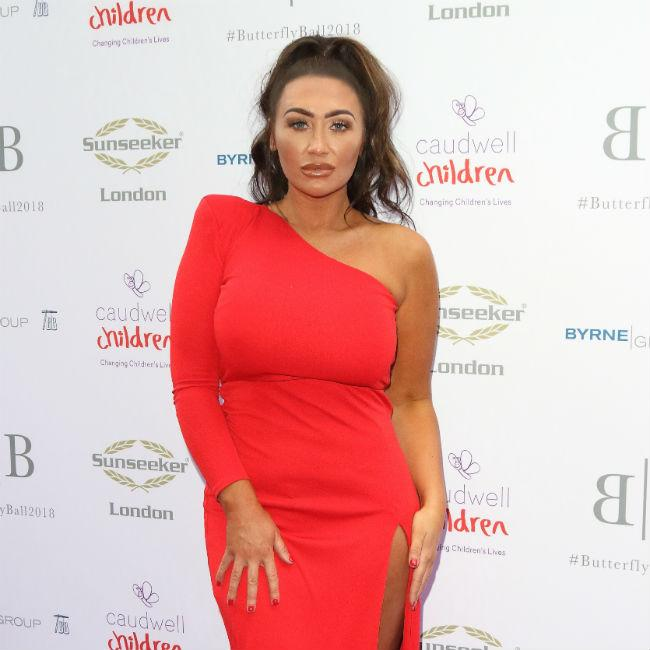 Lauren Goodger 'out of her comfort zone' on Celebs Go Dating