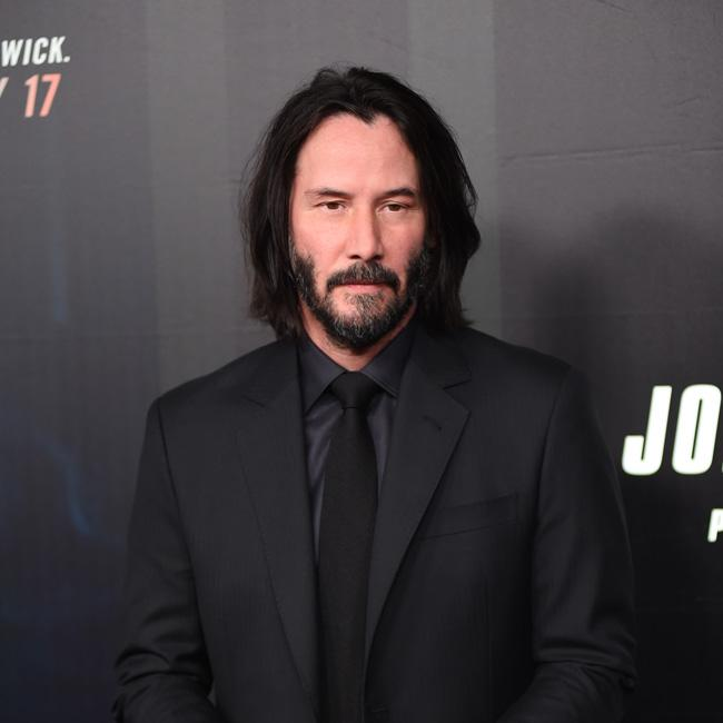 Keanu Reeves says love being shown is 'really nice'
