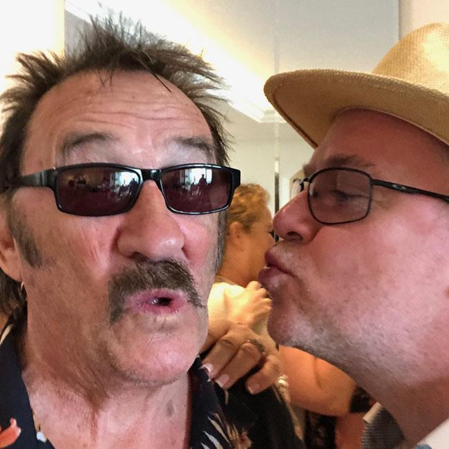 Kerry Katona 'obsessed' with Paul Chuckle and Adam Woodyatt's holiday