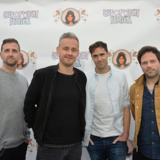 Keane stopped getting into Isle of Wight Festival by security