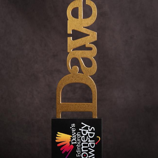 Dave pairs up with Edinburgh Comedy Awards