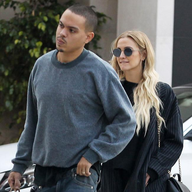 Evan Ross asked permission to date Ashlee Simpson