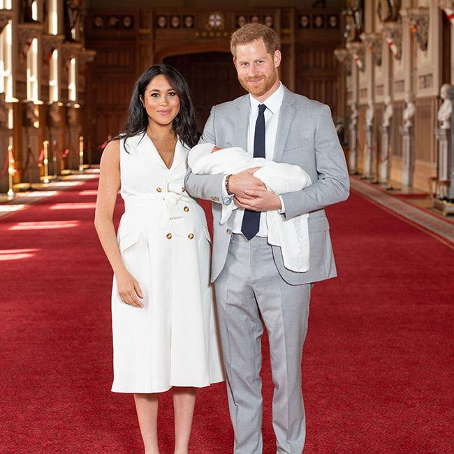 Archie's christening set for Saturday