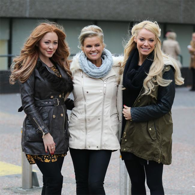 Kerry Katona wants daughters to form a girl band