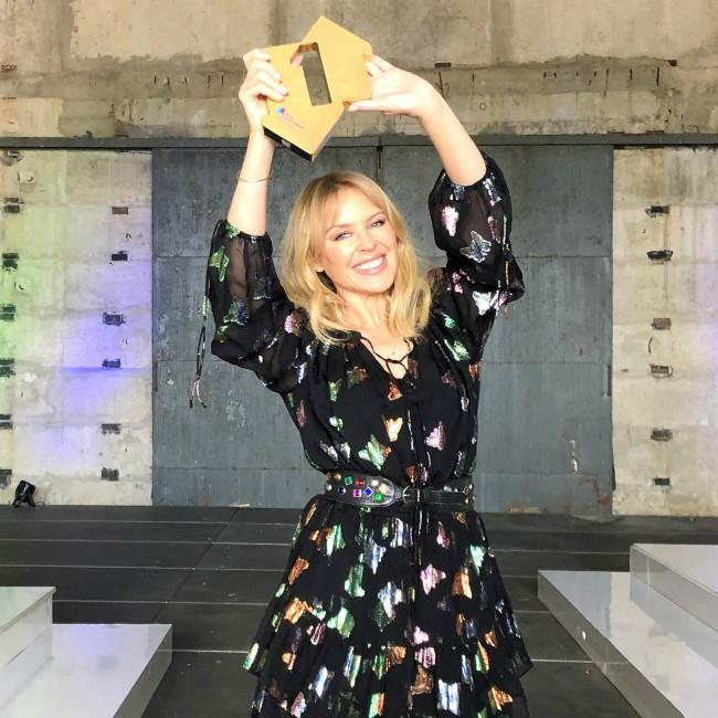 Kylie Minogue scores 7th number one album
