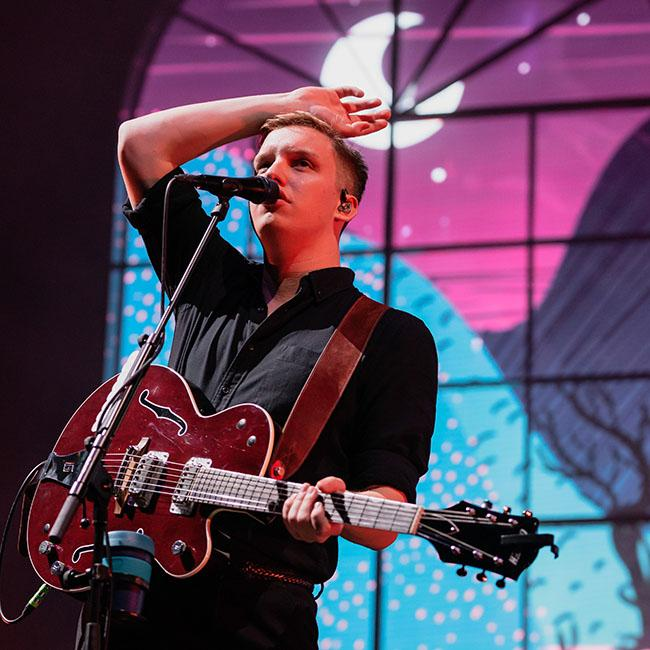 George Ezra relaxed about Glastonbury