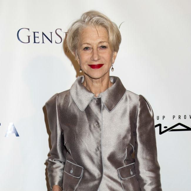 Helen Mirren is happy to get older