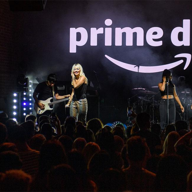 Rita Ora admits she misses performing in London at Amazon's Prime Day Party