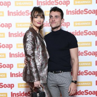 Luke Jerdy and Daisy Wood-Davis engaged