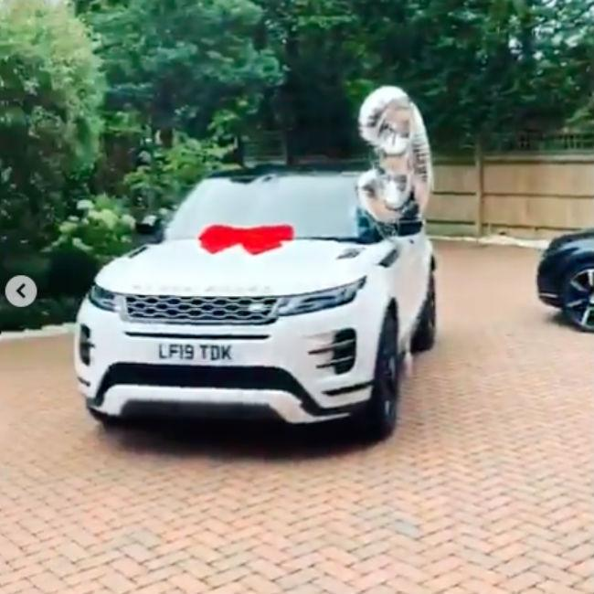 Peter Andre gives wife Emily £40k car for birthday