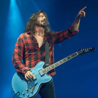 Dave Grohl loves Buckfast wine
