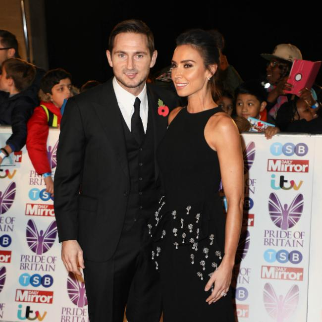Christine Lampard 'lucky' to have met Frank Lampard