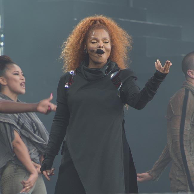 Janet Jackson raises her son alone without a nanny