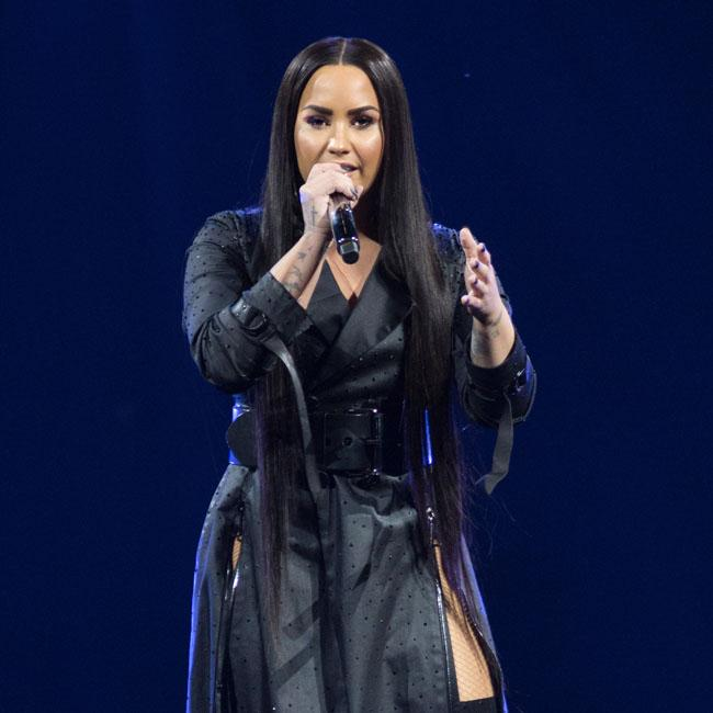 Demi Lovato is fantastic, says Mike Johnson