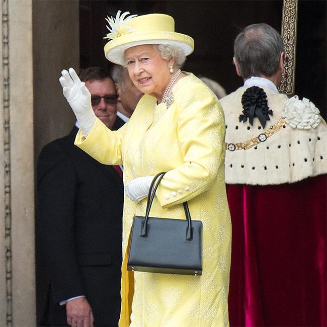 Queen Elizabeth's dresser writing book