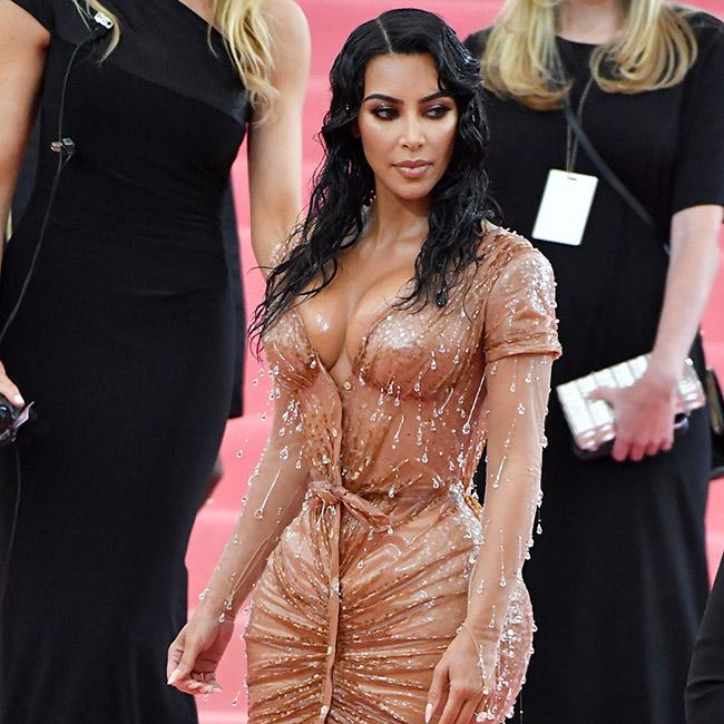Kim Kardashian West got pee 'all over' herself in glitzy gowns