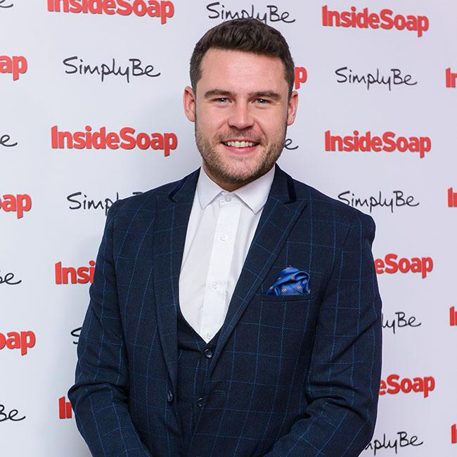 Danny Miller loves working with Lisa Riley on Emmerdale