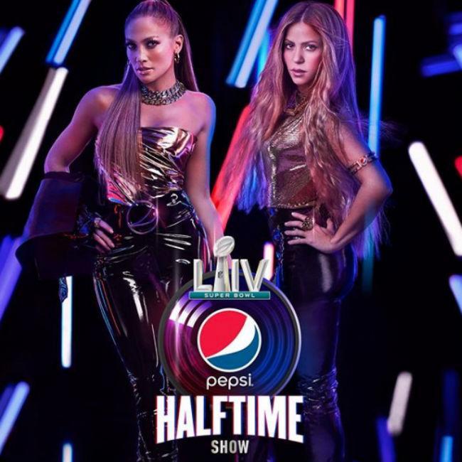 Jennifer Lopez and Shakira to headline Super Bowl half-time show 2020