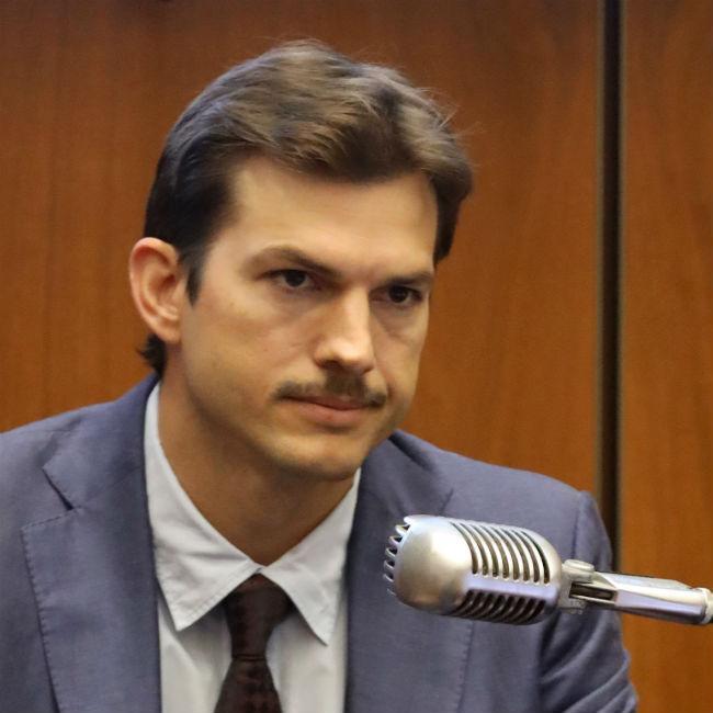 Ashton Kutcher's moustache mix-up