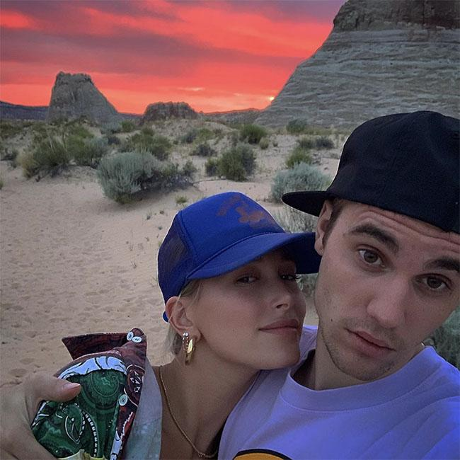 Justin and Hailey Bieber celebrate first anniversary