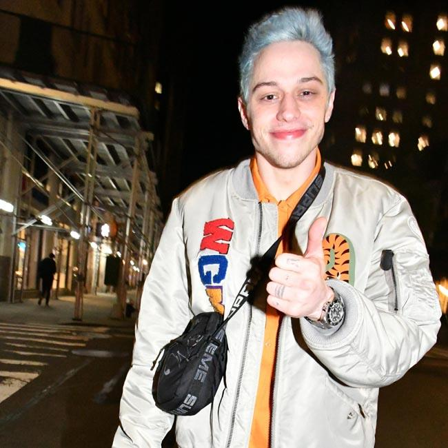 Pete Davidson and Margaret Qualley seem 'happy'