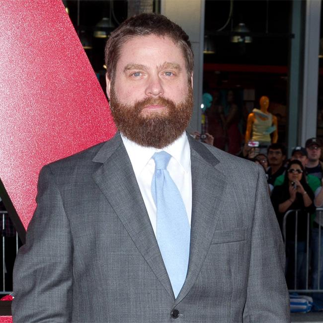 Zach Galifianakis apologised to 'hot idiot' Bradley Cooper
