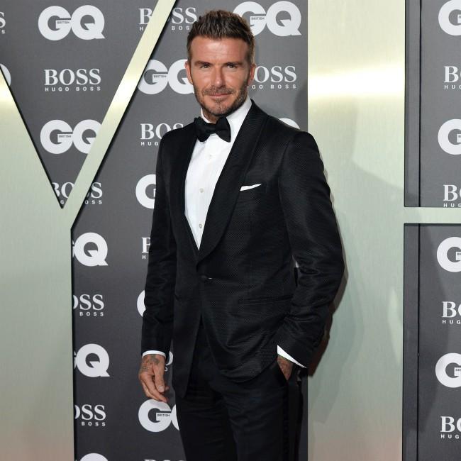 David Beckham admired David Bowie