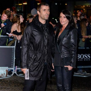 Liam Gallagher is surrounded by love