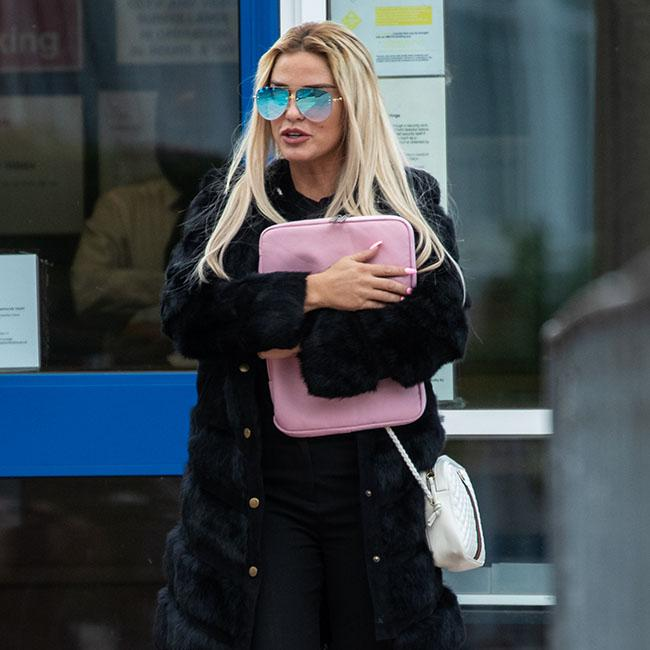 Katie Price blasts police after driving ban