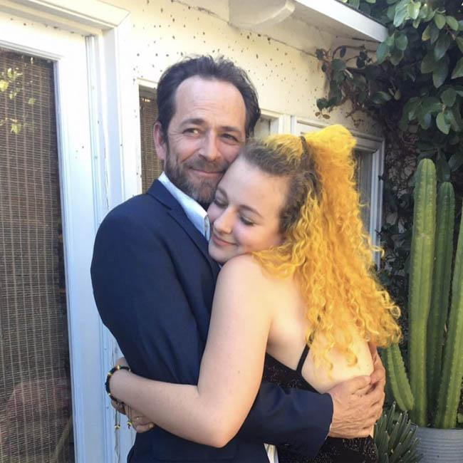 Luke Perry's daughter Sophie shares memory of late dad on his birthday