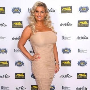 Kerry Katona's boobs were a 'health and safety' hazard