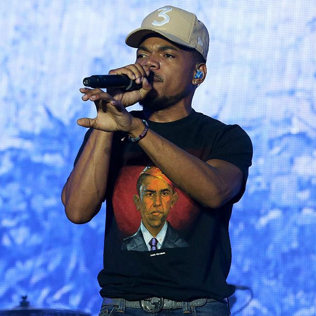 Chance the Rapper talks to Barack Obama