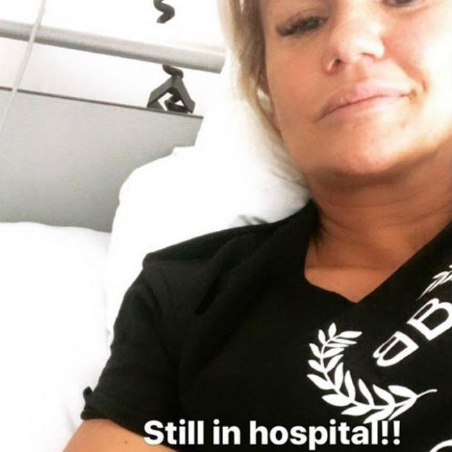 Kerry Katona hospitalised