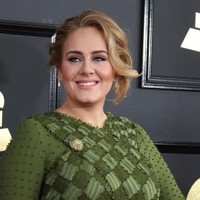 Adele introduces Skepta to her best friends