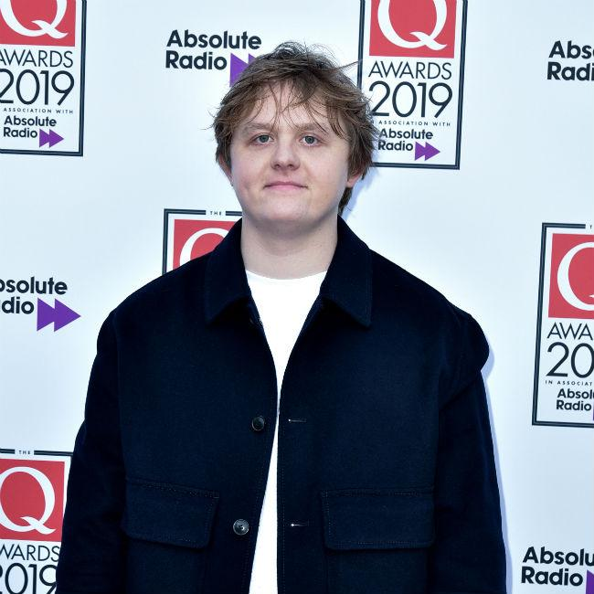 Lewis Capaldi getting piano lessons