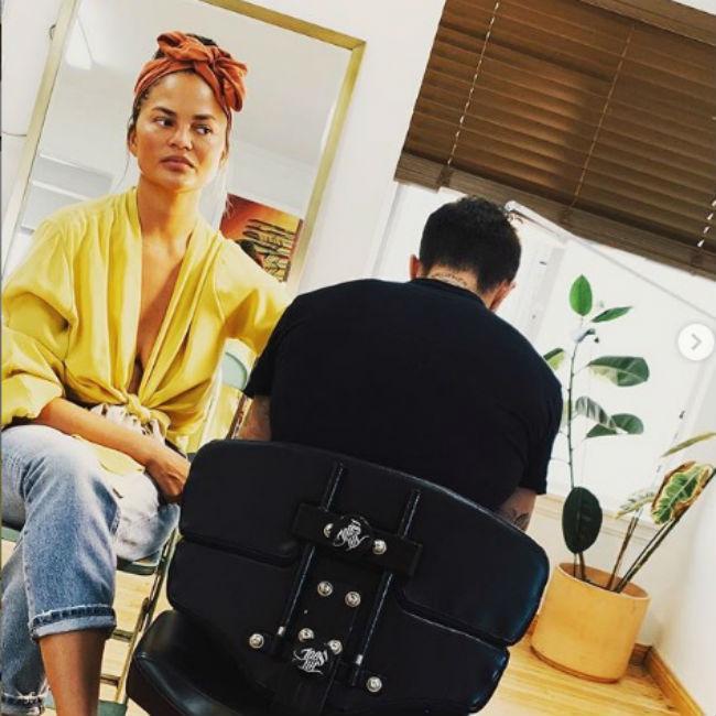 'Cool mom' Chrissy Teigen gets new tattoos