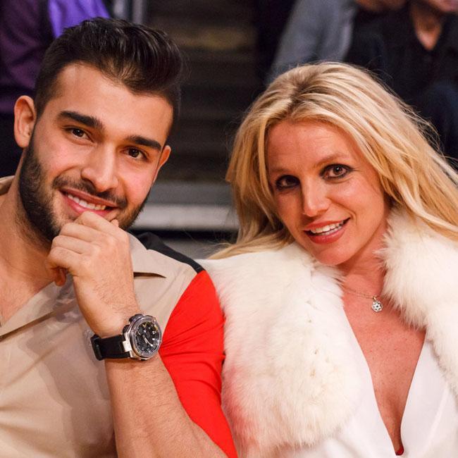 Britney Spears and Sam Asghari love Disney movies