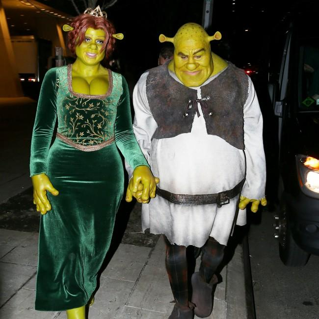 Heidi Klum's couples' Halloween costume will take 10 hours to put on