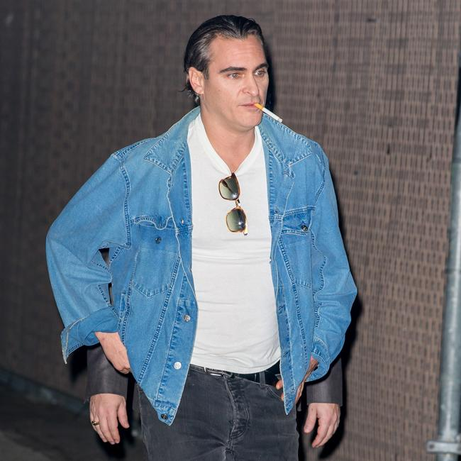 Joaquin Phoenix in minor crash