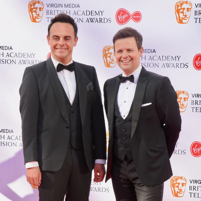 Ant and Dec hang out with farting snake